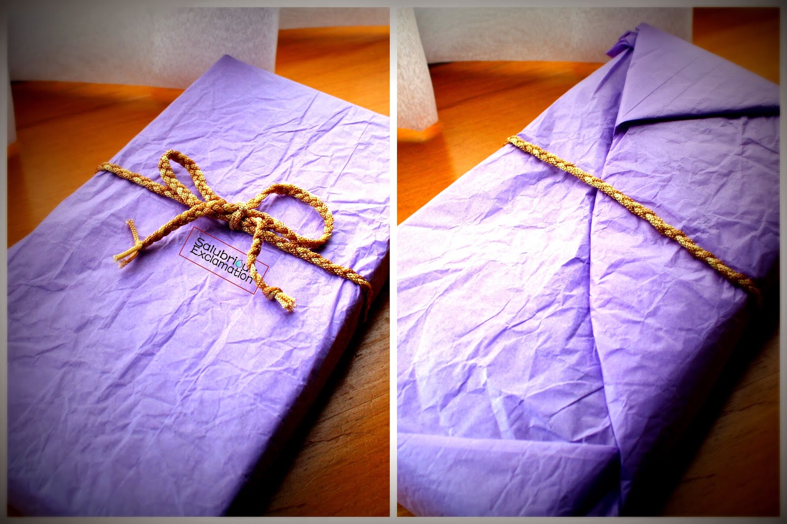 How to Wrap Gifts Without Using Tape