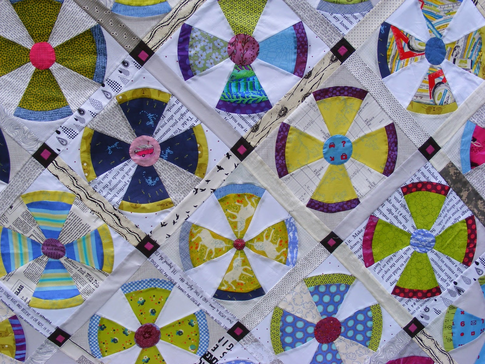 TIA CURTIS QUILTS: Steampunk quilt top : steampunk quilt pattern - Adamdwight.com