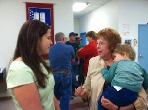 In Touch With the People....Rep. Elise Stefanik Meets Constituents in Lowville
