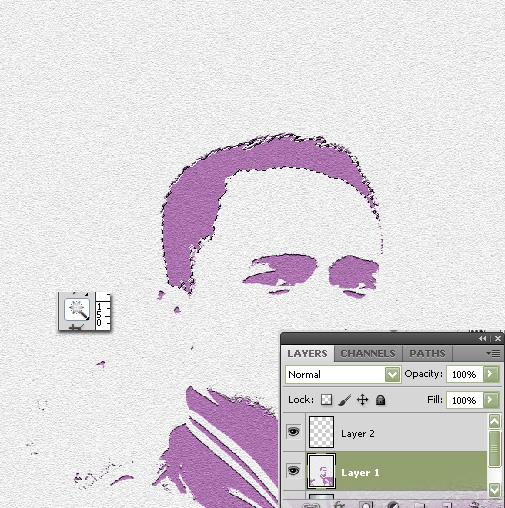 Cara mengubah background foto dengan paint 56