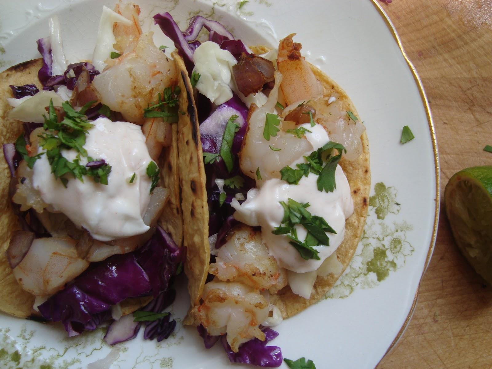 Cooking w Claudine: Cinco De Mayooooo Shrimp Taco