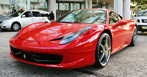 ferrari first hawaiian auto show