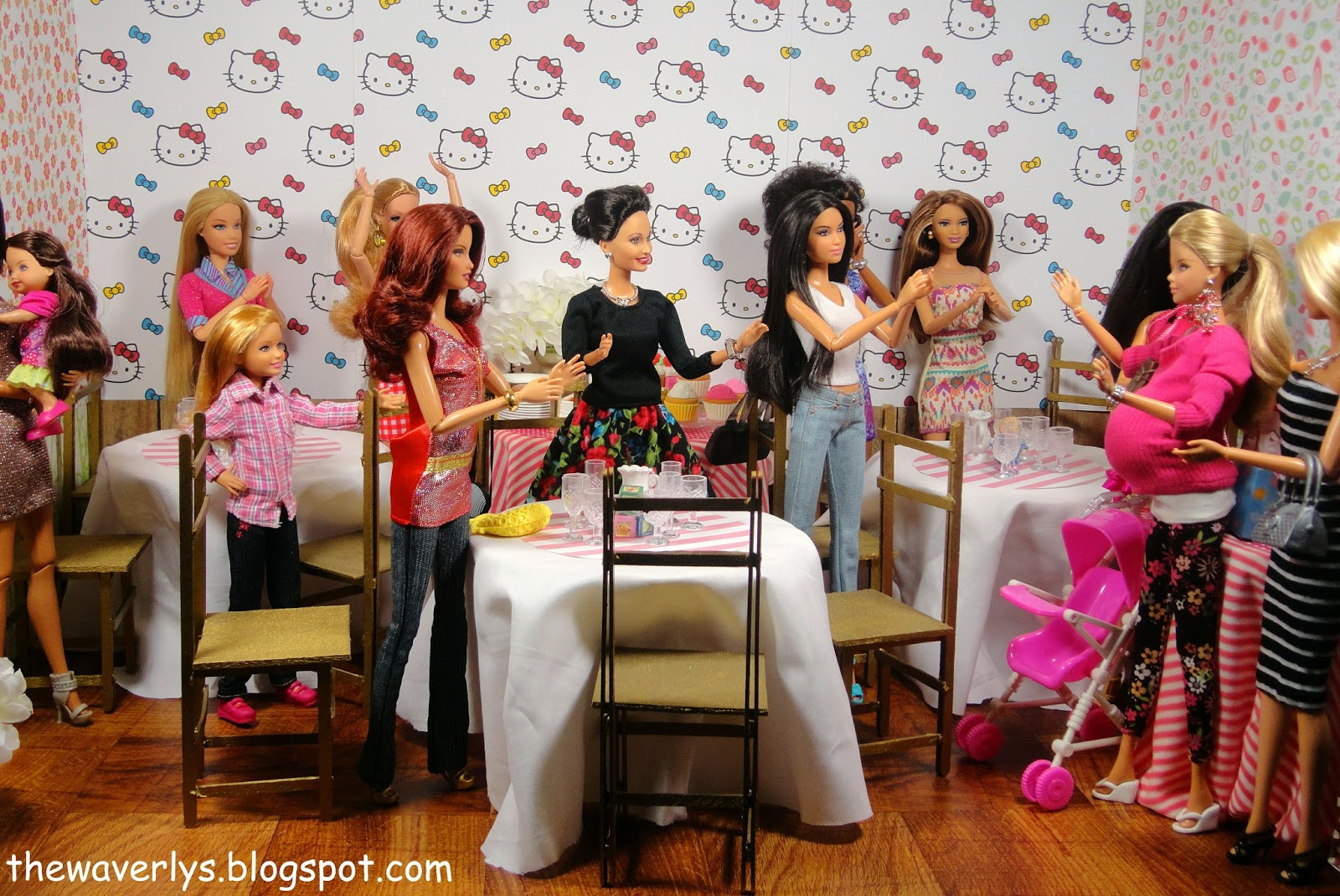 barbie doll baby shower the hippest pics