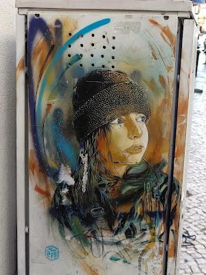 Streetart à Lisbonne : C215 , Aryz , M. Chat , Dalaiama