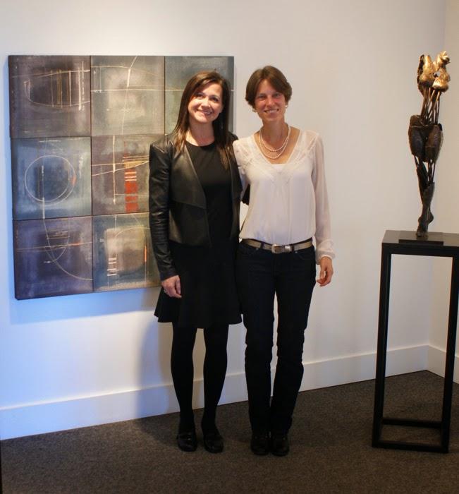verna vogel & rachel at the Front Gallery 2014