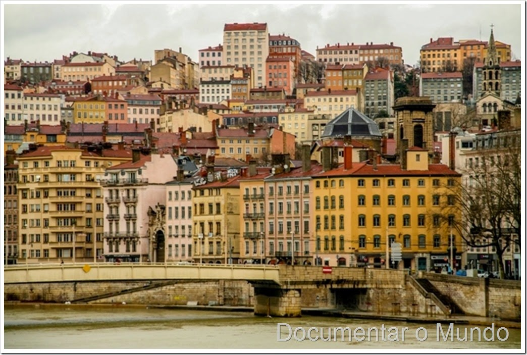 Vista sobre a Velha Lyon