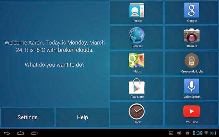 Crescendo Launcher app