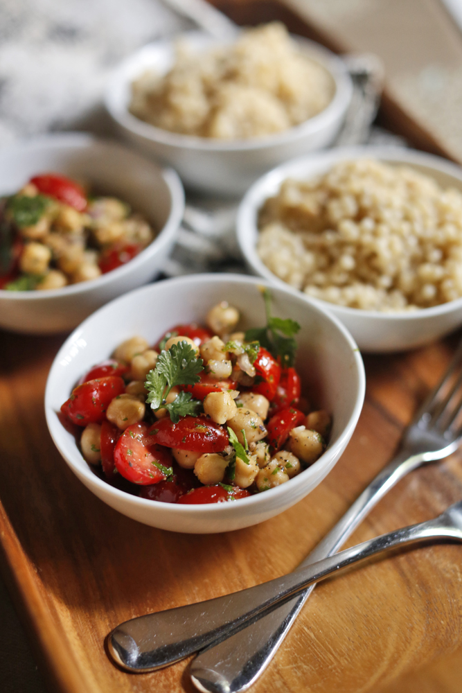 Chickpea Energy Salad