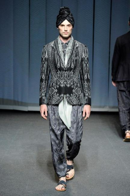 Etro Spring-Summer 2013 Menswear Photo 22