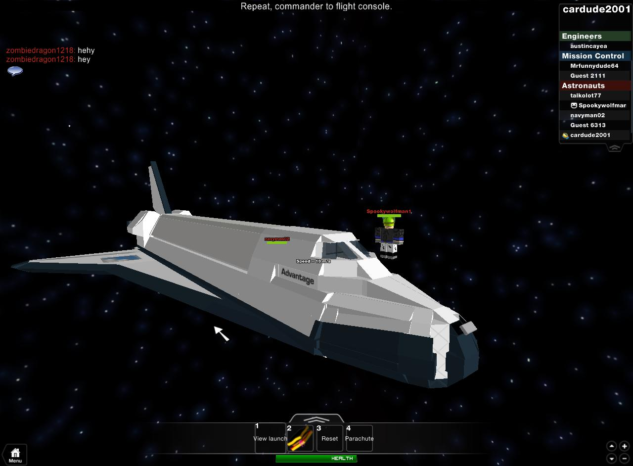 roblox space shuttle - photo #1