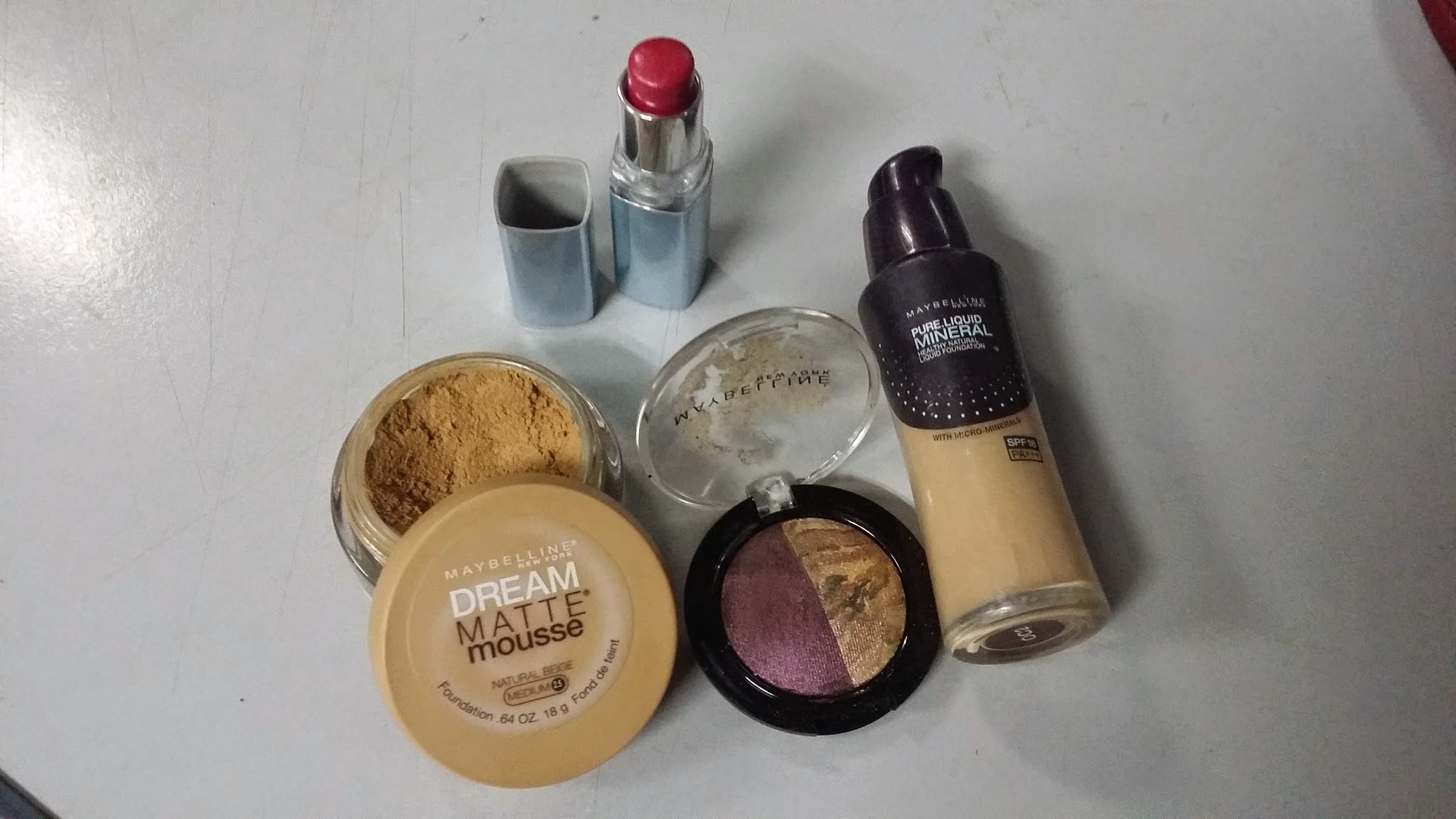 alas make-up, beauty blogger, cara make up yang mudah, cara nak make up, foundation maybelline, lipstik watershine maybelline, tips cantik, tips make up, tutorial make up,