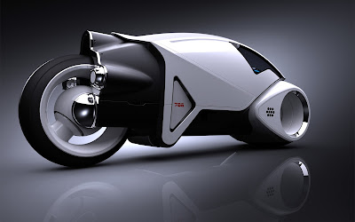 Prototype Tron Lightcycle