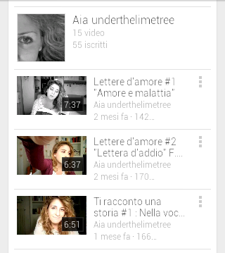 Segui i miei video su YOUTUBE