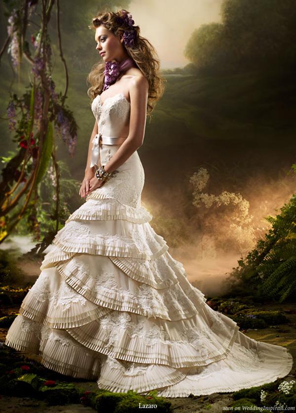 Fashion And Stylish Dresses Blog Lazaro Wedding Dresses