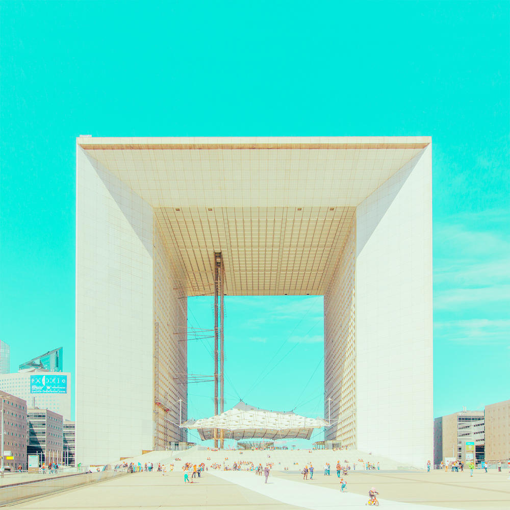 07-La-Defense-Ben-Thomas-Photographs-that-look-like-Pastel-Colored-Illustrations-www-designstack-co