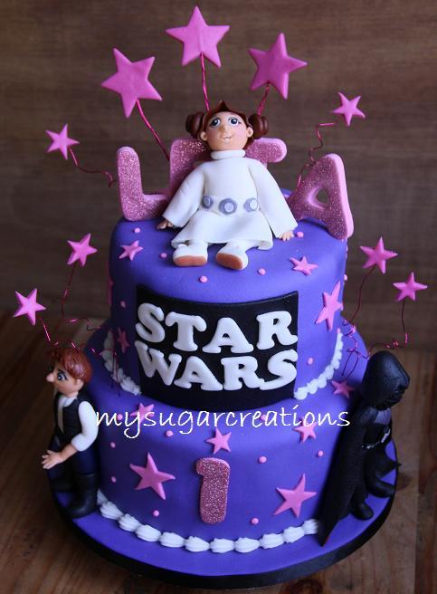 Princess Leia Cake Designs