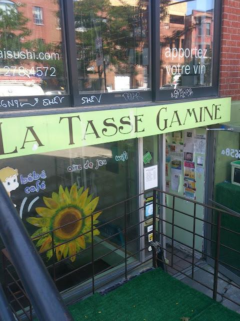 La tasse Gamine: mon spot conciliation rencontre client/ami avec Mini Radieuse
