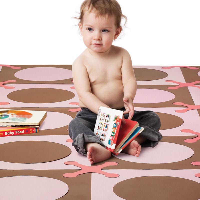 Linda alfombra para el cuarto del beb decorando mejor - Alfombra habitacion nino ...