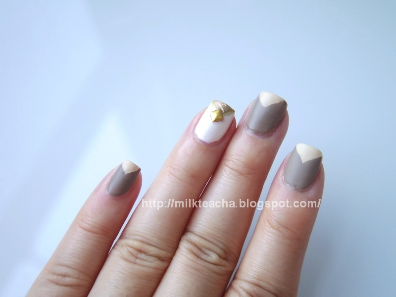 Fall Nail Design: The Earth finished