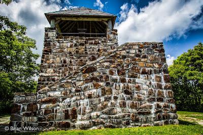 Wayah Bald Observation Tower