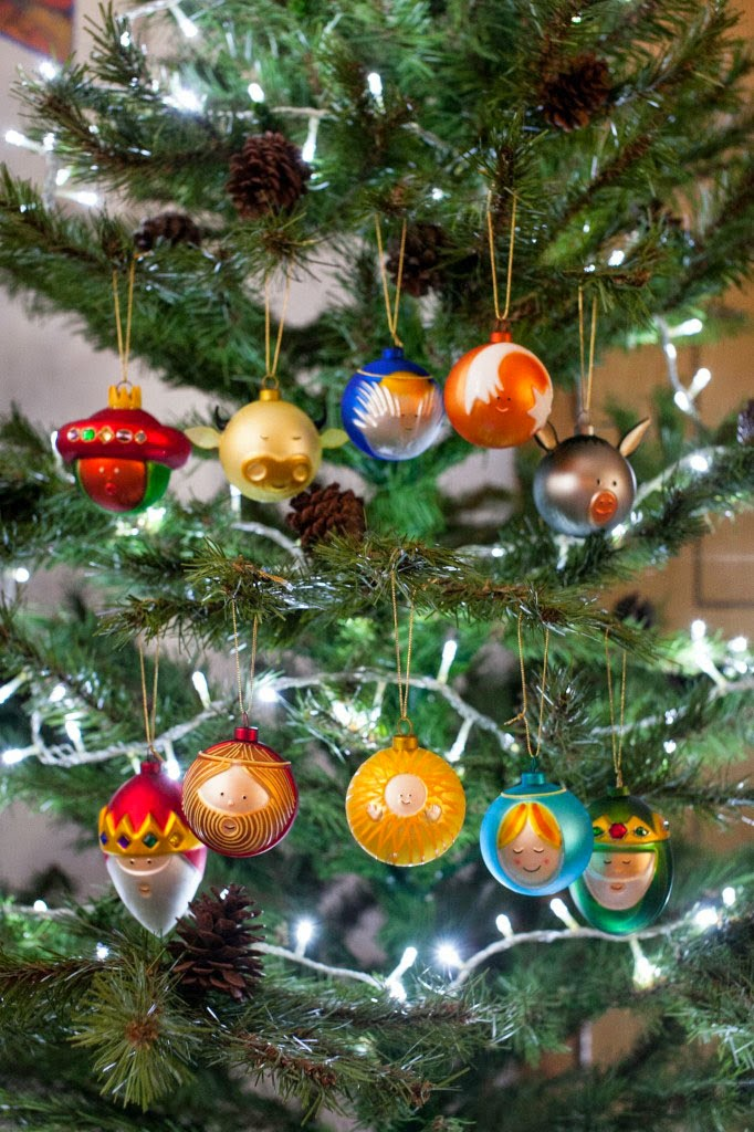 ornaments alessi set of 10 glass christmas ball ornaments - Glass Christmas Balls