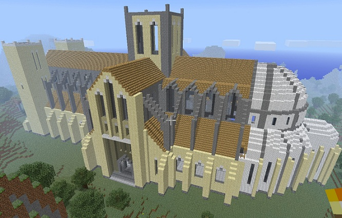 Minecraft Catedral