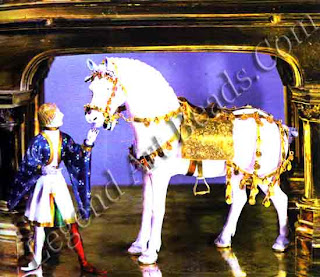 Golden White Horse. End of Fourteenth Century. Pilgrim's Church of Altotting Detail and Ensemble