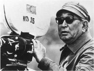 Akira Kurosawa at work