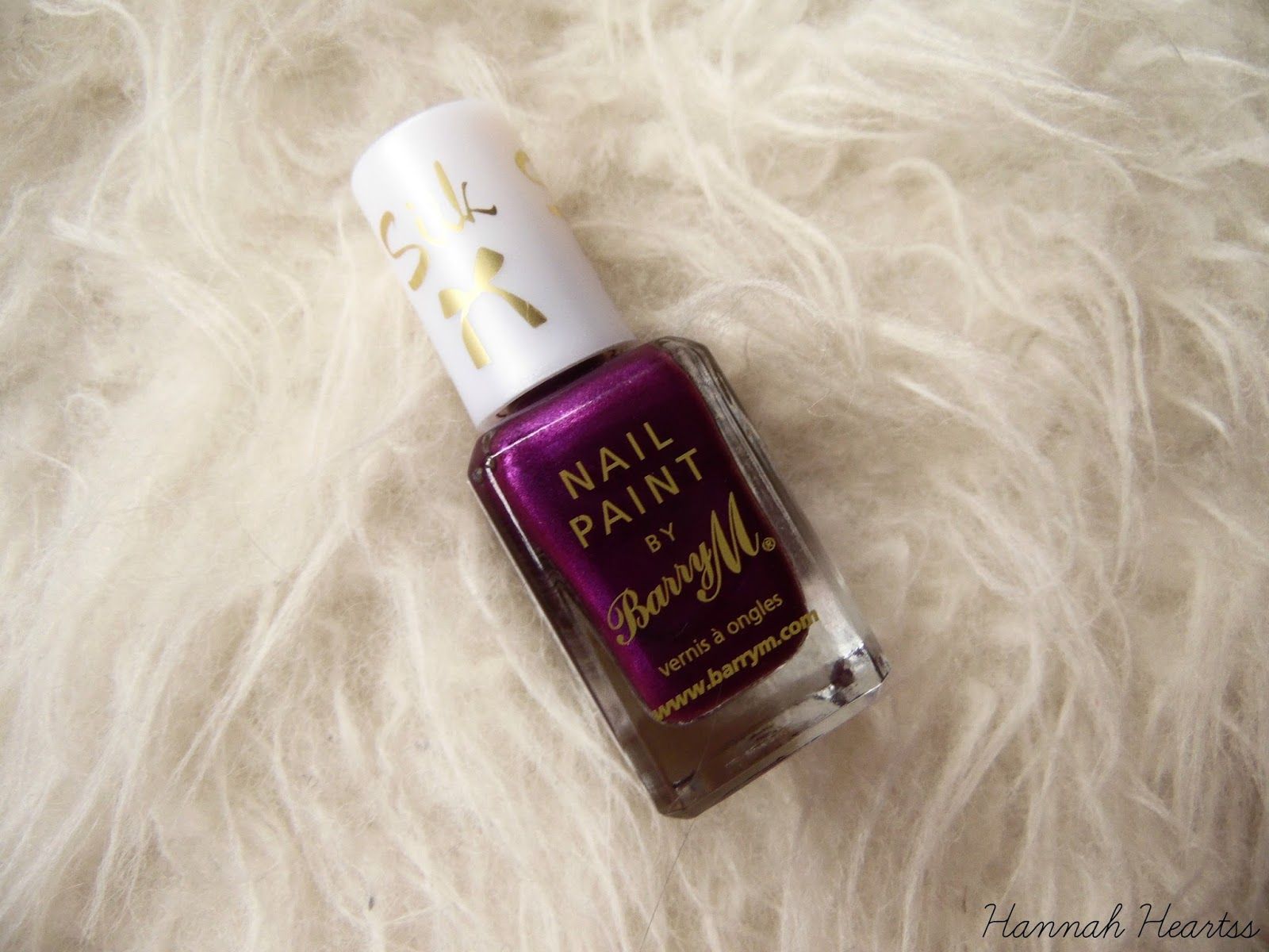 Barry M Silk Nail Polish in Orchid