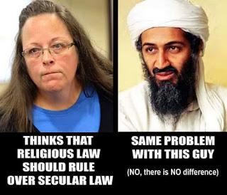 Who is on the same side as Al Qaeda?