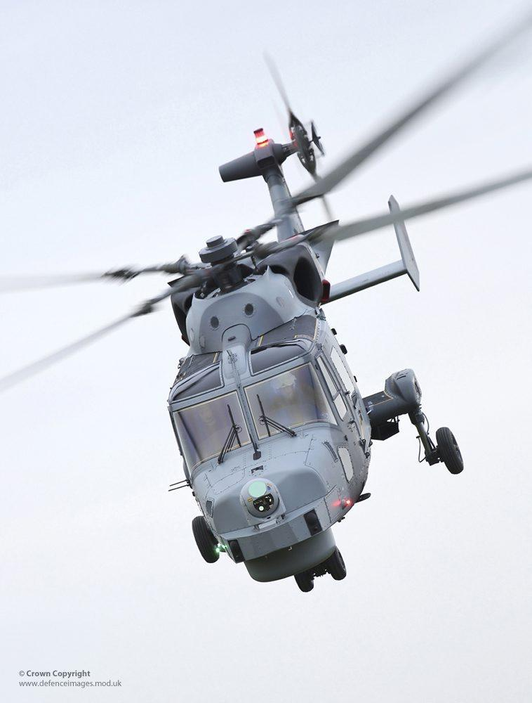 SNAFU Royal Navy Wildcat Attack Helicopter Undertakes Its Maiden Flight