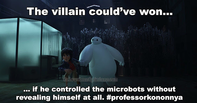 Big Hero 6 movie meme hiro baymax microbots
