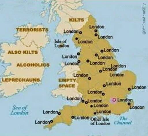 How Most Americans View England