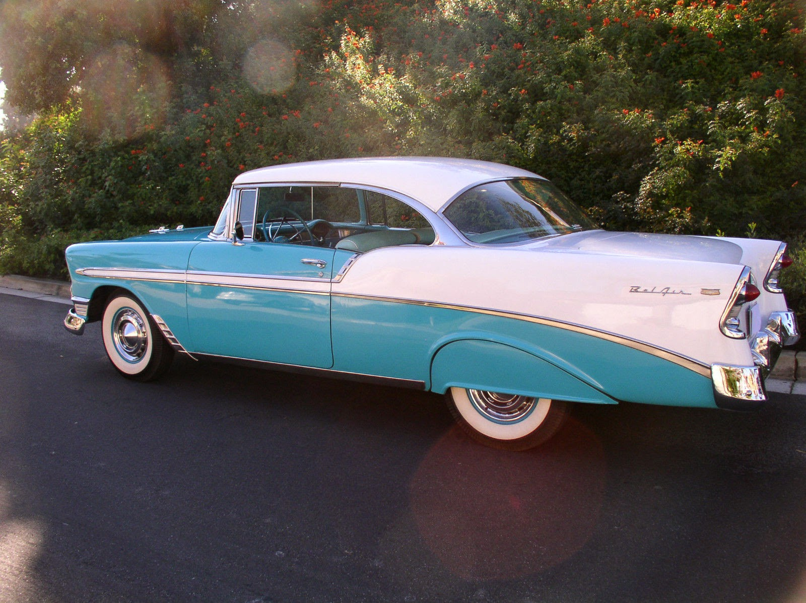 1956 chevrolet bel air 2 door hardtop sport coupe