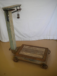 vintage warehouse scale...SOLD