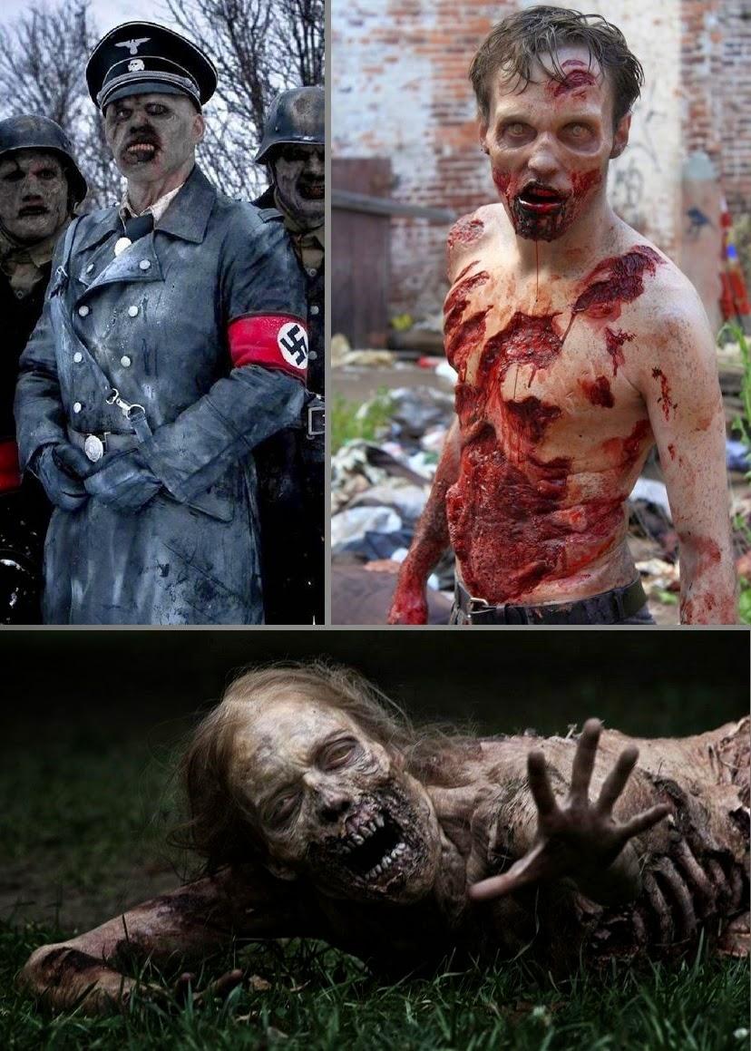 Bunker of the Dead 3D - teaser poster (Dead Snow - Walking Dead)