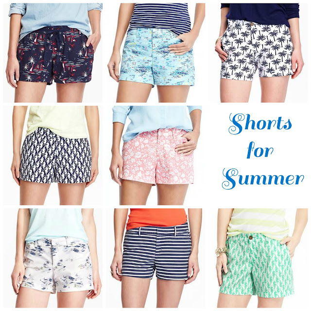Nautical by Nature | Old Navy shorts summer 2015