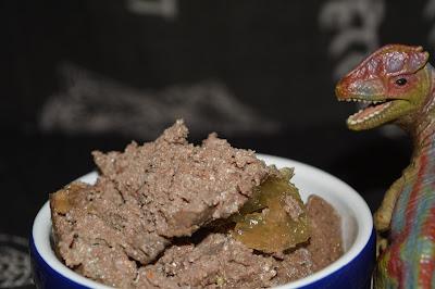 dog food and dinosaurs
