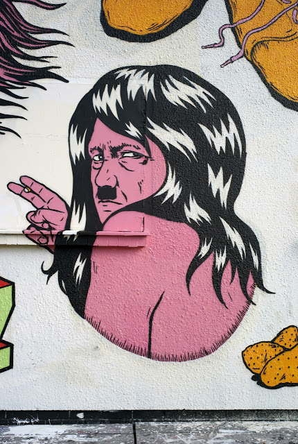 Holocaust Inspired Street Art Mural By Israeli Crew Broken Fingaz On The Streets Of Berlin, Germany 2