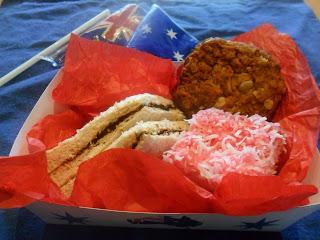 Australia Day Snack Box Printable
