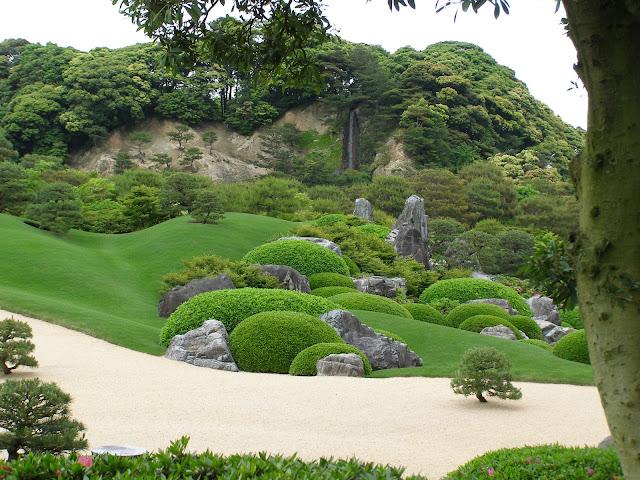 estilos de jardim japonês; jardim japones