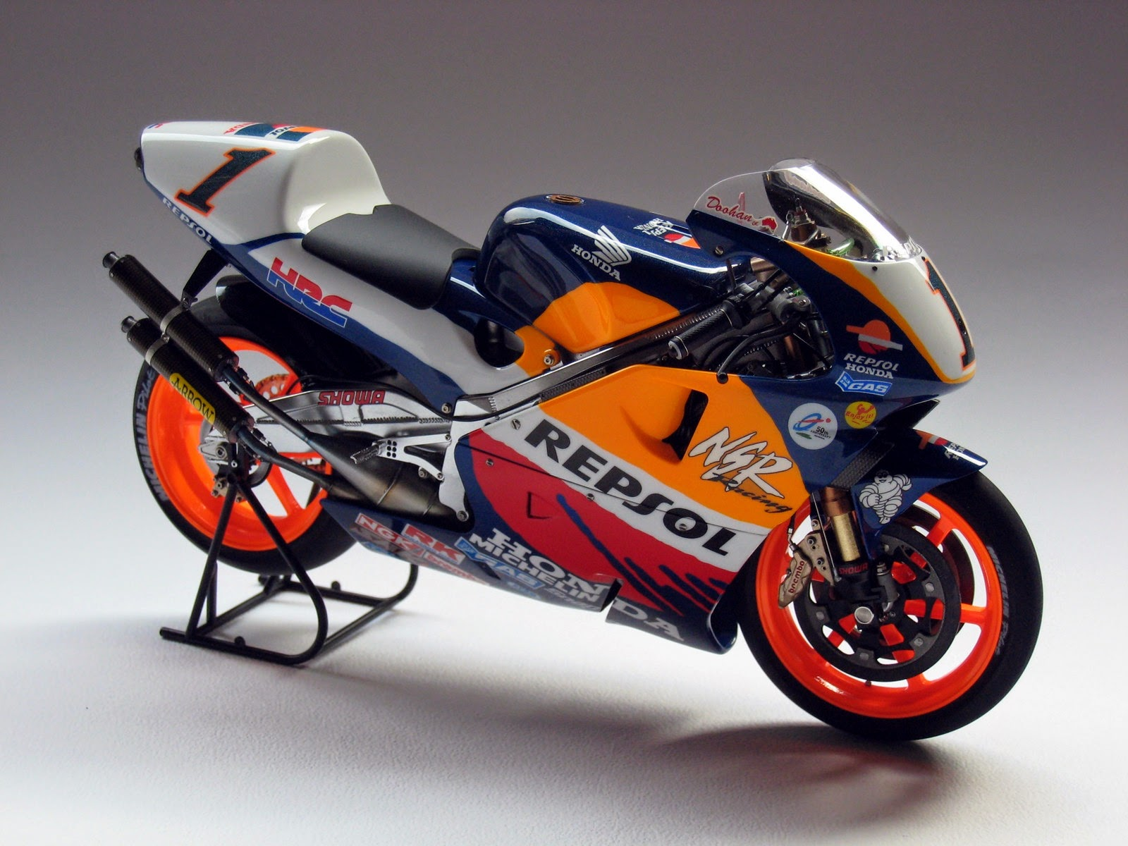 racing scale models honda nsr 500 m doohan 1998 by luyan wen. Black Bedroom Furniture Sets. Home Design Ideas