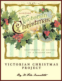 victorian christmas project