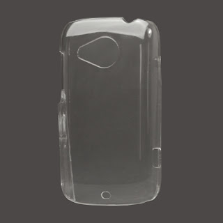 Clear Crystal Case Cover for HTC Desire C A320e