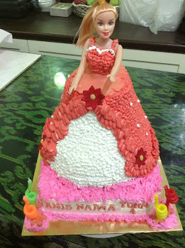 Princess/Barbie Doll Cake