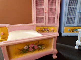 hand painted furniture miniature