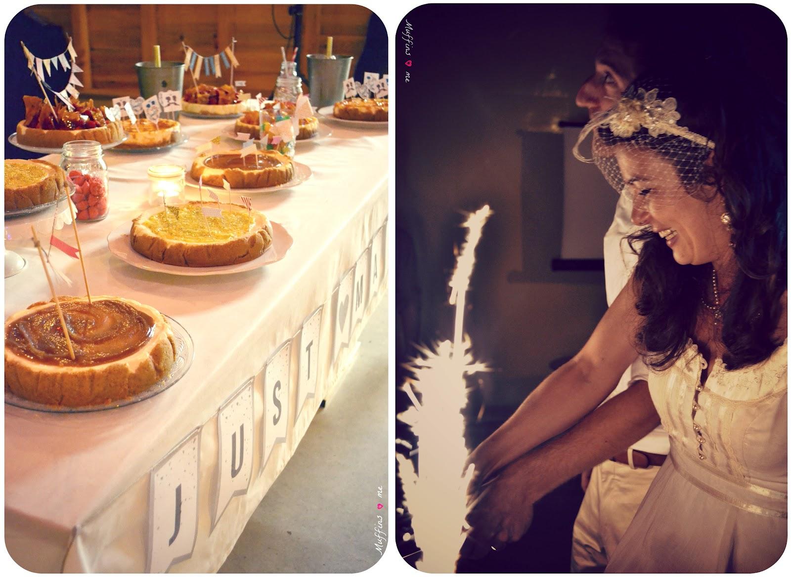 cake et gourmandises des mariés