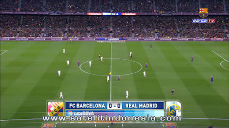 siaran ulang liga spanyol real madrid vs barcelona
