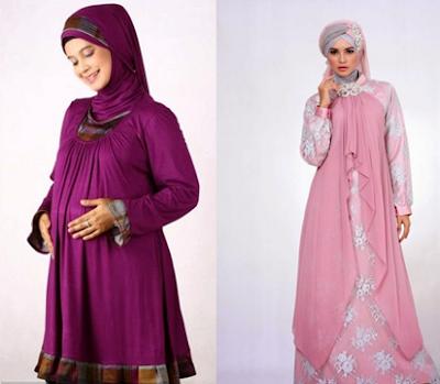 5 Contoh Baju Muslim Ibu Hamil Terbaru