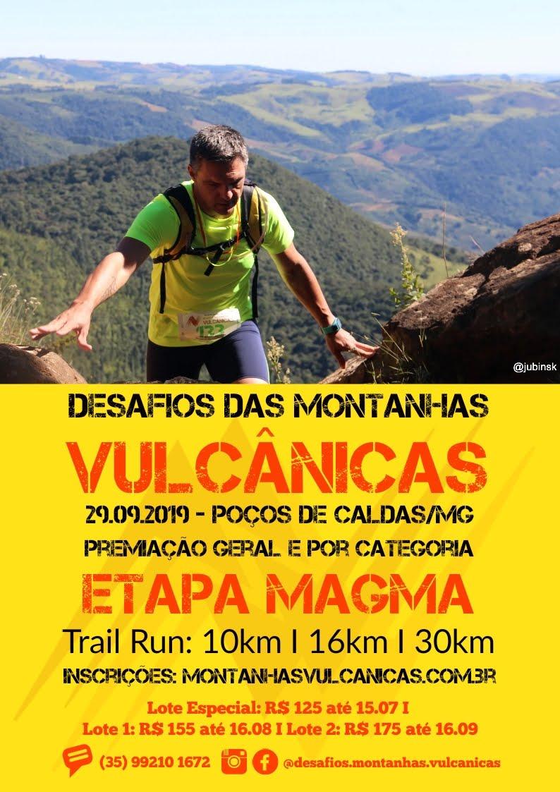 Desafio das Montanhas Vulcânicas